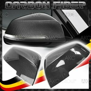 High Quality Real Carbon Fiber Side Mirror Covers Replacement For Bmw 2 3 Series