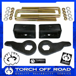 3 Front 3 Rear Lift Kit 1988 1998 Chevy Gmc K1500 4x4 4wd Z71