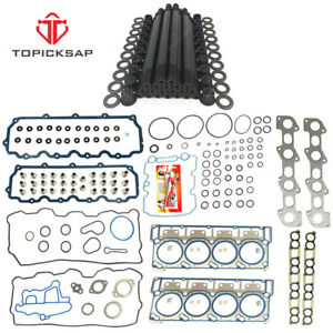 Replacement For Arp 18mm Head Stud Kit head Gasket For 03 07 Ford 6 0l V8 Diesel