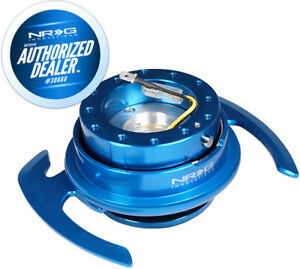 New Nrg Ball Lock Quick Release Gen 4 0 Blue Body And Ring Hardware Srk 700bl