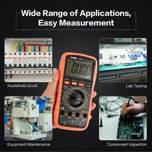 9807a Digital Multimeter True Rms Ac dc Volt Amp Ohm Diode Frequency Tester Ls