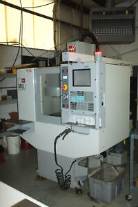 2006 Haas Mini Mill Cnc Absolutely Beautiful With Only 1454 Spindle Hours Cat 40