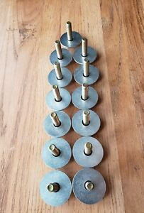 New Correct Jeep Body Bushing Bolt Washer Kit Jeepster Commando Made In Usa