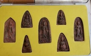 Thai Buddhist Amulet Set Box