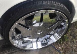 24 Inch Rims And Tires Used