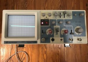 Bk Precision 2120b Dual Trace 20mhz Oscilloscope W box Manual Probes Analog