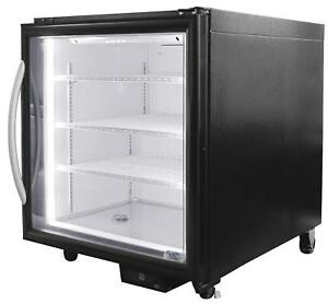 New Glass Door Retail Under Counter Freezer Minus Forty 07 csgf Western Ma