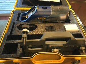 Spectra Dg711 Pipe Laser With 1230 Plate 2 Batteries And More Perfect