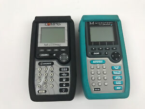 Lot Of 2 Scanners Testers Fluke Microtest Compas Pentascanner Untested As is