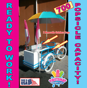 Ice Cream Popsicle Cart