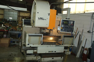 1985 Mitsui Seiki Vr3a In Very Good Condition Cat 40 Spindle