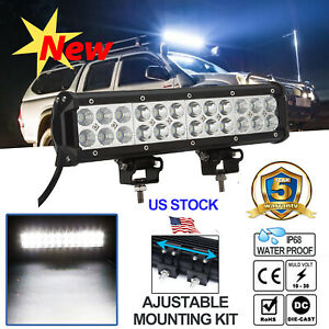 20 Inch Cree Led Work Light Bar 1620w Flood Spot Combo Offroad Harness Wiring