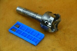 Vr wesson Gp b 200 1 Indexable Facing End Mill 3 insert 2 R8 Bridgeport