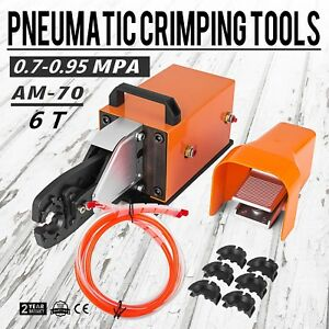 Am 70 Pneumatic Crimping Machine 6t Crimping Tool Cable U shape Terminal Popular