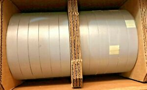Case 12 Rolls New 3m Silver Reflective Material 1 25 4mm X 100m Ref 8912