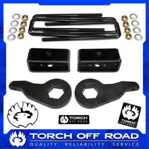 3 Front 2 Rear Lift Kit 1992 1999 Chevy Tahoe Suburban Gmc Yukon 1500 4x4 4wd