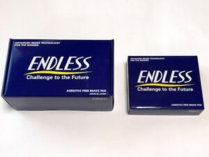 Endless Brake Pads Mx72 Plus Set Of F r For Nissan Gt r r35 From Japan