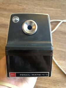 Vintage Heavy Duty Toshiba Pencil Matic Electric Pencil Sharpener Model Ps 10