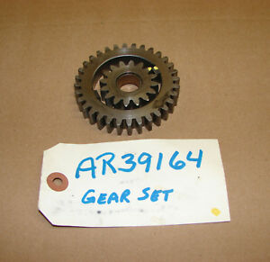 Ar39164 John Deere 300b 2040 2240 1120 1130 1630 Transmission Oil Pump Gear Set