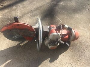 Stihl Ts 350 Concrete Saw Cut Stihl