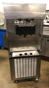 Electro Freeze Sl500 Air Cooled Single Phase Twin Twist Ice Cream Machine