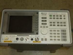 Hewlett Packard 8593e Portable Spectrum Analyzer