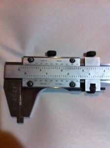 Starrett 26 calipers Model 123 With Fine Adjustment