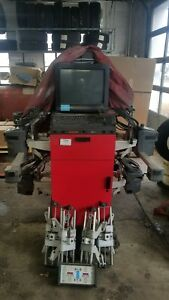 Hunter P611 Wheel Alignment Machine Updated To 2016 Used In Working Shop Daily