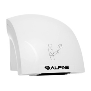 Electric Hand Dryer For Restroom Automatic Ultra Quiet High Speed Hot Air Blower