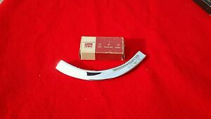 1962 Ford Galaxie Rear Taillight Cove Molding Trim Show