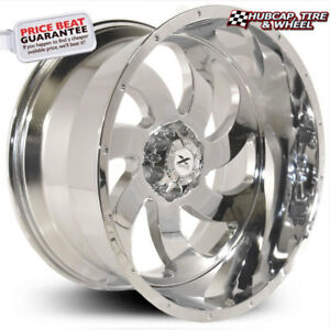 Xtreme Force Xf 1 Chrome 22 x12 Custom Wheels Rims set Of 4 new