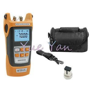 Handheld Optical Power Meter Tester 70 3dbm Sgv305 1mw Visual Fault Locator