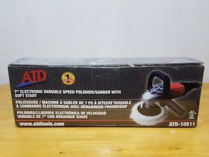 Atd 7 Electronic Variable Speed Polisher sander buffer With Soft Start Atd10511