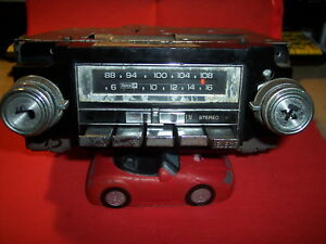 Vintage Oem Gm Delco 2700 1978 84 Am fm 8track Stereo Radio Working Chevy Truck