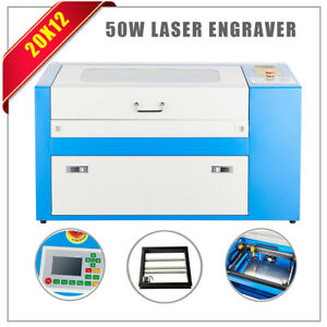 Laser Engraving Cutting Machine 50w Engraver Cutter Wood Working crafts Os