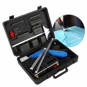 New Groove Electric Hot Blade Foam Cutter Heat Wire Grooving Cutting Tool Kit Us