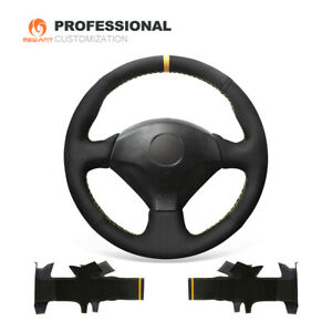 Top Design Suede Steering Wheel Cover For Honda S2000 Civic Si Acura Rsx Type s