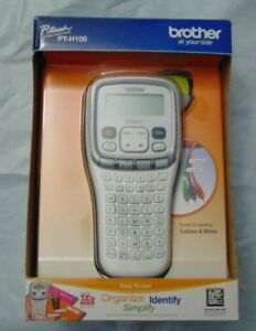 Brother Pt h100 Label Maker P touch Electronic Tze Brand New In Box