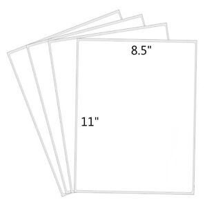 100 2000 Premium Full Sheet Shipping Labels 8 5 x11 Round Corner Self Adhesive