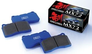 Endless Brake Pads Mx72 Set Of F r For Honda Accord Euro R Cl7 Cl9