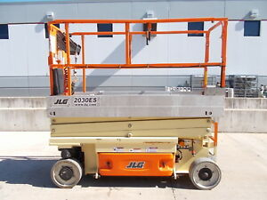 2014 Jlg 2030es Electric Scissor Lift 26 Working Height Deck Extension Genie