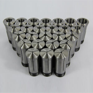 23 Piece Metric 5c Collet Set 3mm 25mm X 1mm High Precision 0 0005 Accuracy