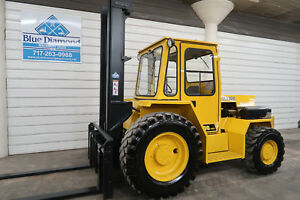 Sellick Sd 100 10 000 Rough Terrain Forklift 4x4 Drive Sideshift Cab