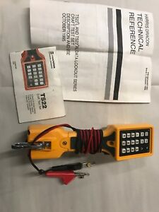 Fluke Networks Ts22a Test Set W manual Free Shipping