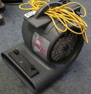 Century 400 Hurricane Pro Air Mover 5hp 3 Speed Carpet Floor Dryer Fan Blower