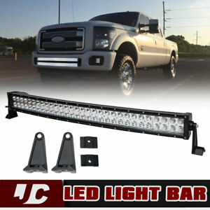 42inch 400w Curved Led Work Light Bar Flood Spot Offroad Lamp F1 Suv Atv 38 40