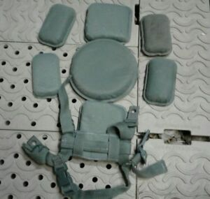 ACH HELMET PAD SET WITH H HARNESS AND CHIN STRAP