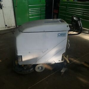 Advance Ba 5321 Walk Behind Battery Operated Floor Scrubber With Charger