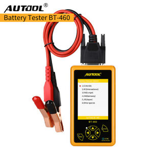 Autool Bt 460 Car Battery Tester Charging System Analyzer For 12v 24v Vehicle