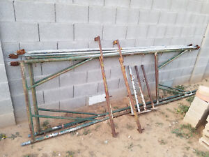 Large Adjustable Section Of Industrial Modular Scaffold Scaffolding